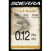 27798 Scierra Trout Leader Valas 2.7m 3.17kg 0.22mm