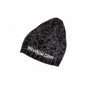 Savage Gear Geometry Knit Black kepurė