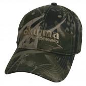 Okuma Full Back Camouflage Kepurė su snapeliu