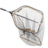 Savage Gear Pro Folding Rubber Large Mesh Landing Net graibštas