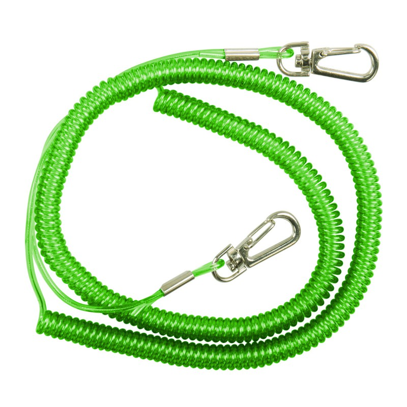 DAM Safety Coil Cord With Snap Locks
