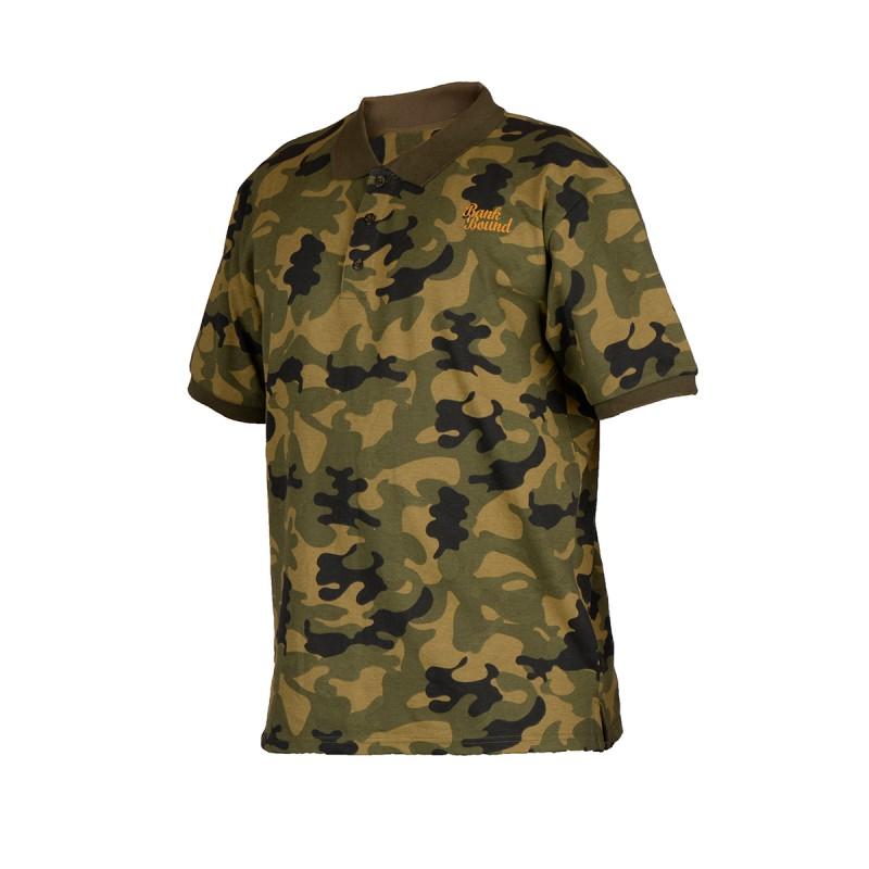 Prologic Bank Bound kamufliažiniai polo tipo Marškinėliai