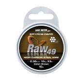 54892 Savage Gear Raw49 (0.36mm; 11kg - 24lb; Uncoated Brown; 10m)