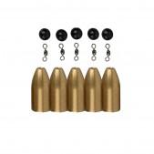 Savage Gear Brass Bullet Kit's komplektas