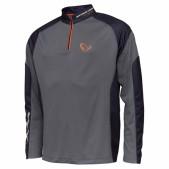 Bliuzonai Savage Tournament Shirt 1/2 Zip Sedona Grey