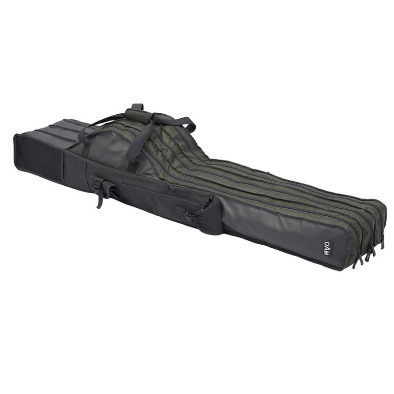 Dėklas DAM Rod bag 3 compartment (Padded-Reinforced)