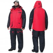 AWSNPRBM Kostiumas Žieminis Alaskan NewPolar (raudonai-juodas) (M Dydis)