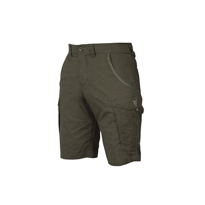 Šortai Fox Collection Combat Shorts Green / Silver