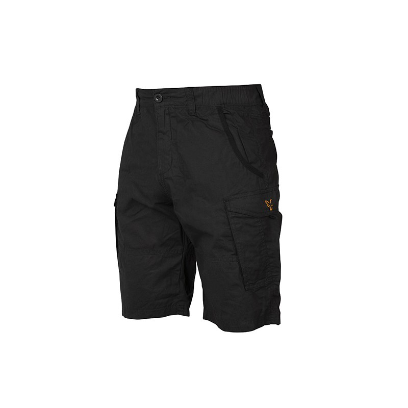 Šortai Fox Collection Combat Shorts Black / Orange