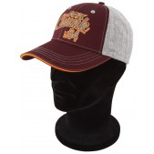 Kepurė su snapeliu Fox Chunk Grey/Burgundy/Orange Baseball Cap