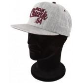 Kepurė su snapeliu Fox Chunk Grey/Burgundy Twill Baseball Cap