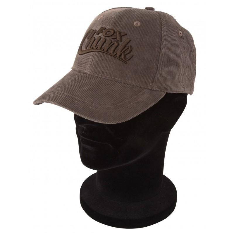 Kepurė su snapeliu Fox Chunk Khaki Cord Baseball Cap