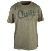 CPR627 Marškinėliai Fox Chunk Stonewash Marl T-Shirt Olive (S Dydis)