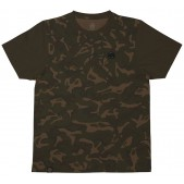 Marškinėliai FOX Chunk Camo / Dark Khaki Edition T-shirt