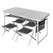Stalas su kėdėmis Norfin Runn