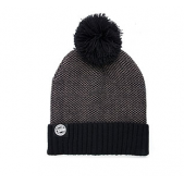 FOX kepurė Chunk Grey/Black Bobble Hat