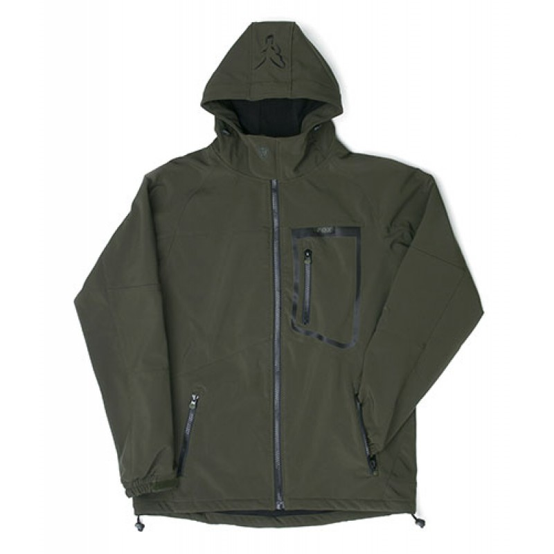 Striukė FOX Green / black softshell jacket