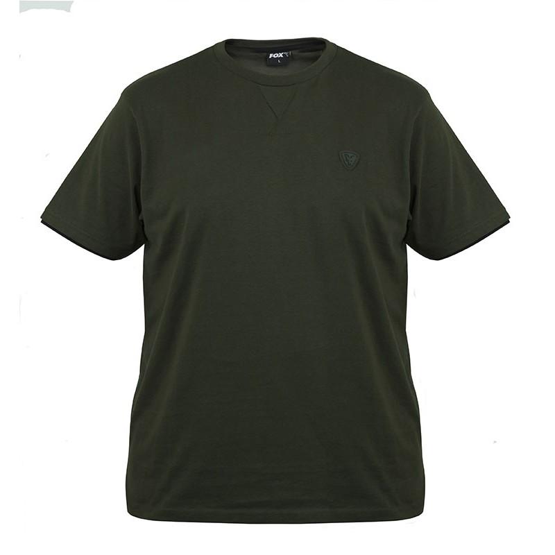 Marškinėliai Fox Green / black Brushed cotton T-shirt