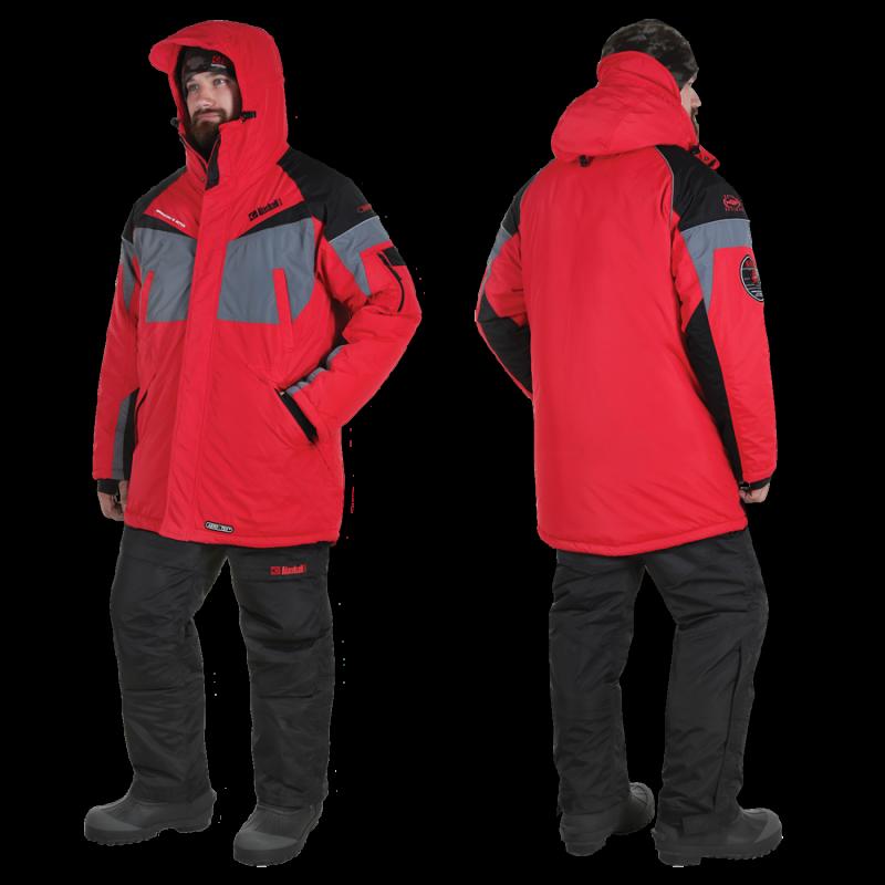 Kostiumas Žieminis Alaskan Dakota red/grey/black