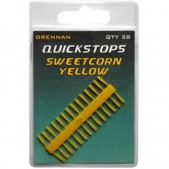 Drennan Pushstops Sweetcorn Yellow