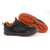 Batai Fox Black & Orange Trainers