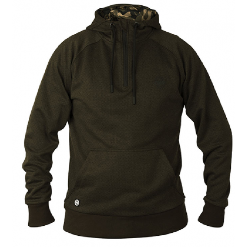 FOX bliuzonas Chunk Dark Olive hoodie