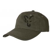 FOX kepurė Fox green / black baseball cap