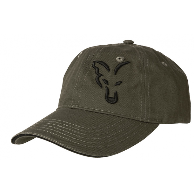 FOX kepurė Fox green / black baseball cap