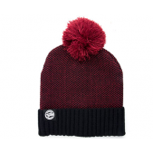 FOX kepurė Chunk Burgundy/Black Bobble Hat