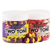 DY595 Dynamite Baits Boiliai Fluro Two Tone Pop-Ups Tutti-Frutti & Pineapple 15mm