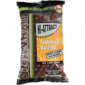 DY970 Dynamite Baits boiliai Hi-Attract Spicy Shrimp & Prawn - (Krill) 15mm 1kg