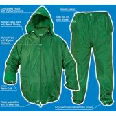 Kostiumas nuo lietaus PVC XL