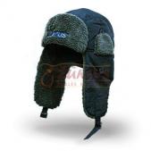 Larus žieminė kepurė su kailiuku