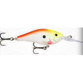 Rapala Max Rap Fat Shad MXRFS05 (PCOU) Pearl Chartreuse Orange UV