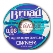 Owner Broad nylon monofilament 0.16 25m
