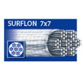 Pavadėliai 50-018-40 Dragon Surflon 7x7 18 40