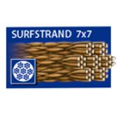 Pavadėliai 50-118-40 Dragon Surfstrand 7x7 18 40
