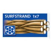 Pavadėliai 50-205-25 Dragon Surfstrand 1x7 5 25