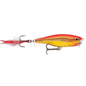 Rapala Skitter Pop SP05 (SGFR) Steel Gold Fluor Red