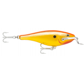 Rapala Shad Rap Magnum SRMAG12 (CGFR) Chrome Gold Fluorescent Red
