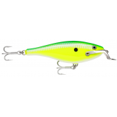Rapala Shad Rap Magnum SRMAG12 (GFC) Green Fluorescent Chartreuse