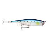 Rapala Skitter Pop Saltwater SSP12 (BSRD) Blue Sardine