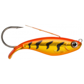 Rapala Weedless Shad WSD08 (GFRT) Gold Fluorescent Red Tiger