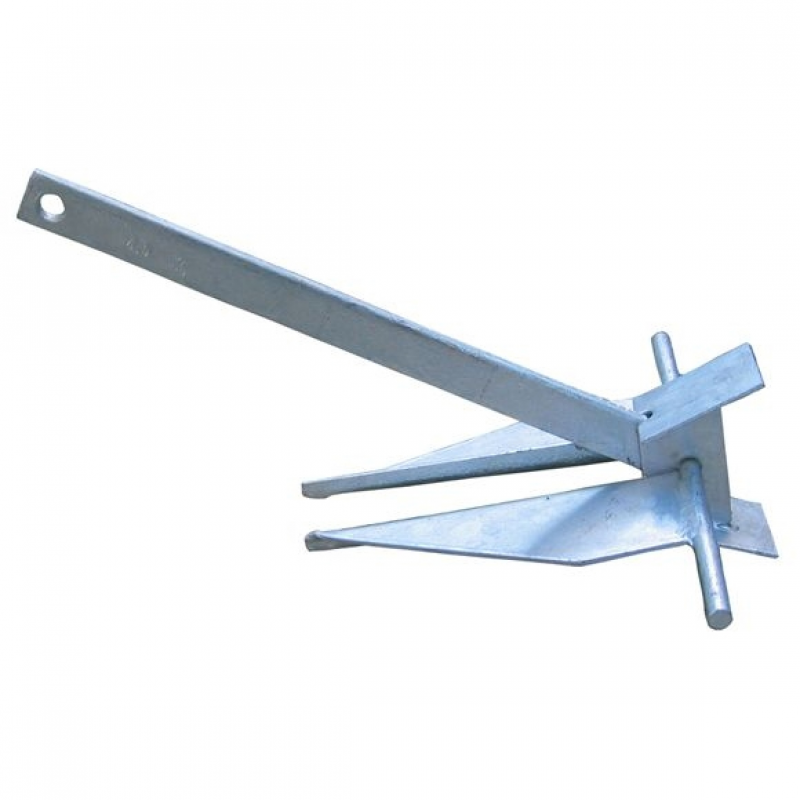 danforth Traditional danforth fluke anchor, 8 lb type: pivoting fluke (danforth style) this high-grade anchor line is engineered to handle the dynamic shock loads caused by boat motion and is treated for max.
