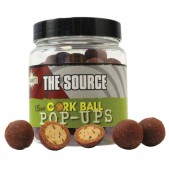 DY932 Dynamite Baits Red-Amo Foodbait Pop-Ups Cork Ball 15mm