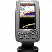 Echolotas Lowrance Hook 4x Mid/High/DownScan Chirp