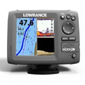 Echolotas Lowrance Hook 5 Mid/High/DownScan Chirp Combo