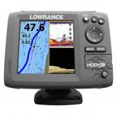 Echolotas Lowrance Hook 5x Mid/High/DownScan Chirp