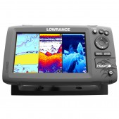 Echolotas Lowrance Hook 7 Mid/High/DownScan Chirp Combo