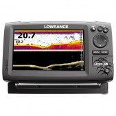 Echolotas Lowrance Hook 7x Mid/High/DownScan Chirp